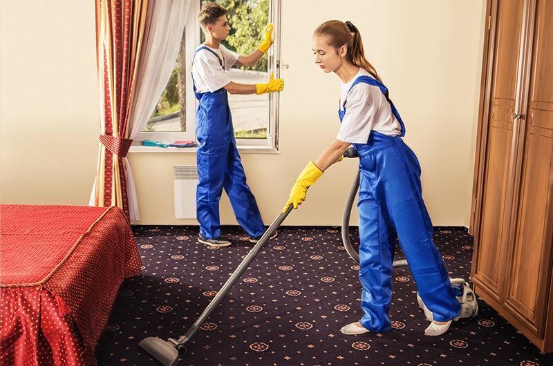 Renovierung und Reinigung
