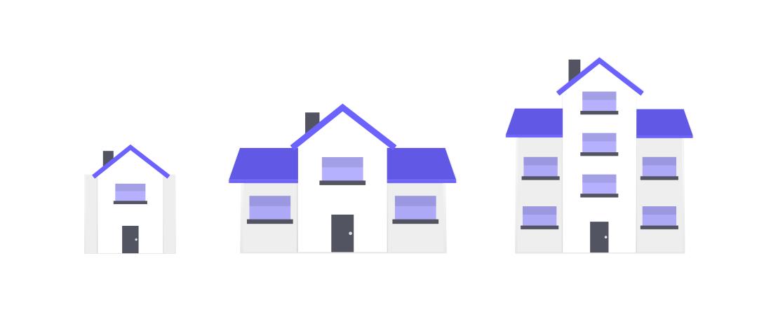 undraw houses3 xwf7 - Entrümpelung oder Reinigung?